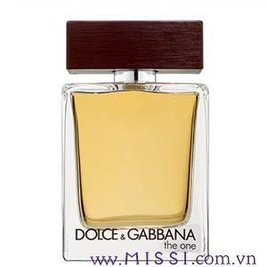 Nuoc Hoa Dolce Gabbana D G The One Danh Cho Nam Gioi Edt 100ml