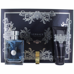 VERSACE - Pour Homme Giftset 100ml (1 NH 100ml, 1 Tuýp Hair & Body 100ml, 1 Money Clip)
