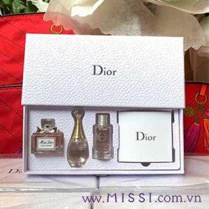 Nuoc Hoa Chinh Hang Nu Christian Dior 3 Chai 5ml