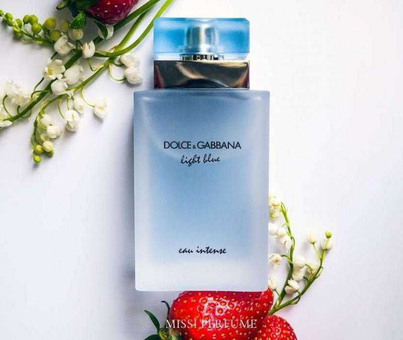 Cách chọn nước hoa - D&G Light Blue Eau Intense | Missi Perfume